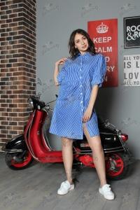 Платье-рубашка LiN 1700